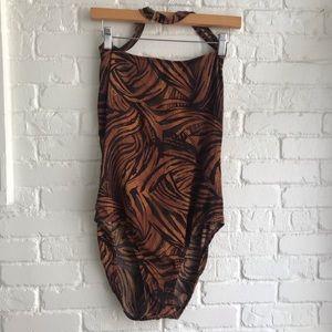 Athena one piece halter bathing / swimsuit 16